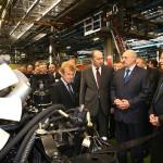 Лукашенко посетил Минский автомобильный завод
