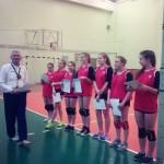 Петрыкаўская валейбольная каманда стала другой на абласных спаборніцтвах