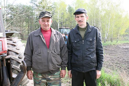 Сейбіты Мікалай Сянько і Юрый Лыскоў