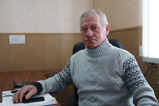 Кіраўнік ПМК-67 Васіль Каляда