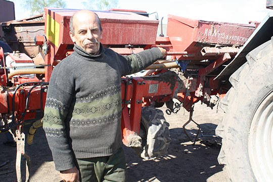 Мікалай Уласік з аграсервісу