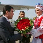 Візіт Прэзідэнта Туркменістана ў Беларусь