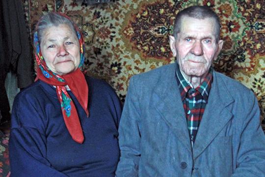 Мікалай Пінчук з жонкай Марыяй