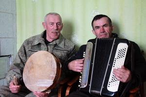 Пётр Галота і Уладзімір Пінчук