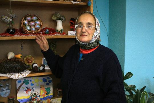 Ганна Калодзька, працуе бібліятэкарам 40 гадоў