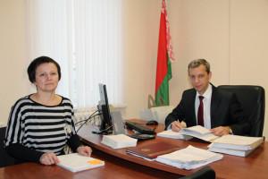 Генадзь Шэвель і Святлана Панцюк