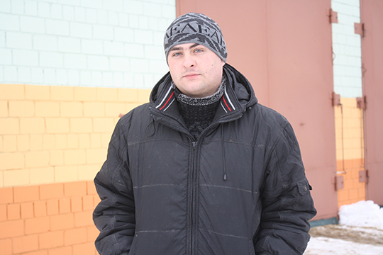 Галоўны заатэхнік Яўген Рабірох