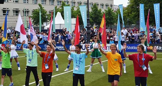 Юных футболистов приглашают на конкурс
