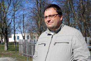 Фермер Павел Валынец плануе яшчэ аздобіць міні-сквер каля гатэля