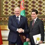 Визит Президента Беларуси в Туркменистан