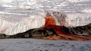 Раскрыта природа происхождения «кровавого» водопада в Антарктиде