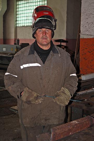 Газаэлектразваршчык Іван Курыцын