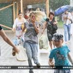 Оранжевый уровень опасности объявлен в Беларуси днем 13 июня из-за сильного ветра