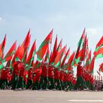 Колонна с гербами районов области возглавит праздничное шествие к Дню Независимости в Гомеле