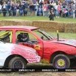 Автобои на выживание проведут гонщики на международном автомотофестивале под Гомелем