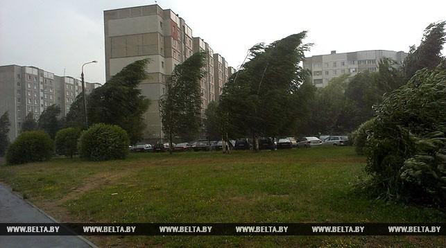 Оранжевый уровень опасности объявлен 26 июля из-за гроз и шквалистого ветра