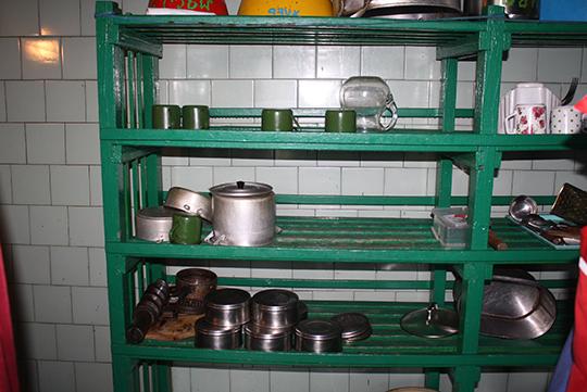 Парадак на кухні   ў чалюшчавіцкай сталовай