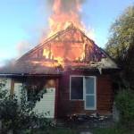 У Петрыкаве адбыўся пажар