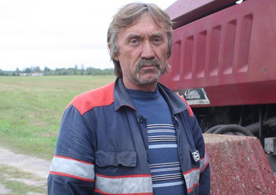 Механізатар Валянцін Агіевіч
