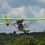 Сверхлегкий самолет совершил вынужденную посадку в лесу в Мозырском районе