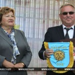 Эстафета Дня белорусской письменности торжественно передана городу Иваново Брестской области