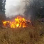 Под Гродно сын устроил пожар в сарае: погиб его отец