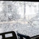 В Гродно неизвестные обстреляли автобус