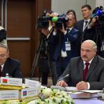Лукашэнка прыняў удзел у самітах кіраўнікоў дзяржаў СНД і ЕАЭС