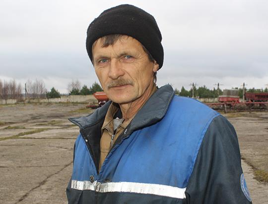 Механізатар Віталь Кананчук