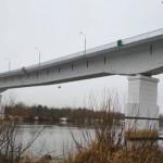 Движение по мосту через Припять в Житковичском районе перекрыто