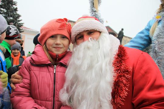 22 снежня ў Петрыкаве адбудзецца шэсце Дзядоў Марозаў і Снягурак