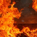 В Пинске горела школьная раздевалка