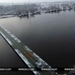 Поврежденный из-за непогоды понтонный мост в Житковичском районе планируется восстановить в течение дня