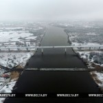 Движение по мосту через Припять в Житковичском районе планируется открыть к 1 января 2019 года