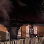 Пять человек погибли при пожаре в Борисовском районе