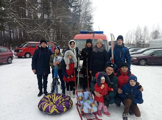 Каманда РАНС лыжы