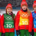 Белорусские биатлонистки победили в эстафете на Олимпиаде-2018