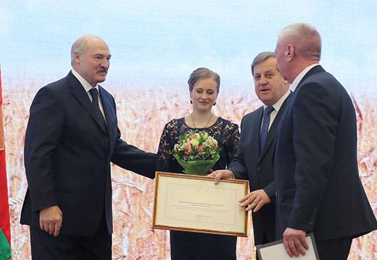 Аляксандр Лукашэнка і прадстаўнікі Брэсцкай вобласці