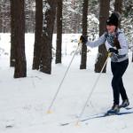 Снег, мароз, лыжы