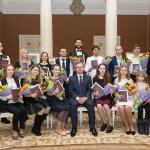 Премии Гомельского облисполкома для поддержки творческой молодежи вручены 18 дарованиям