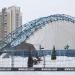 Следователи проводят проверку по факту обрушения крыши катка в Гомеле