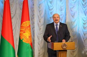 Аляксандр Лукашэнка правёў сустрэчу з творчай моладдзю