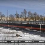 Паромная переправа прибыла из Пинска в Житковичский район