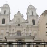 «Беларусь 1» будет транслировать пасхальное богослужение из архикафедрального костела в Минске