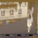 Подтопления паводковыми водами зафиксированы в 12 районах Беларуси