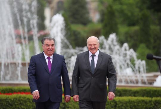 Візіт Прэзідэнта Беларусі ў Таджыкістан