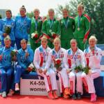Беларускія весляры заваявалі медалі на чэмпіянаце Еўропы