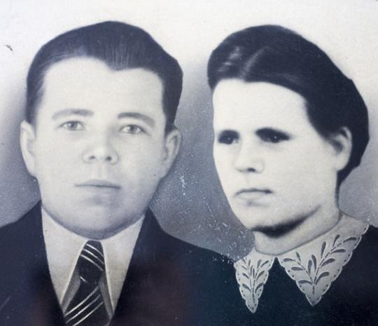 Адам Сцяпанавіч і Любоў Назараўна Малышавы