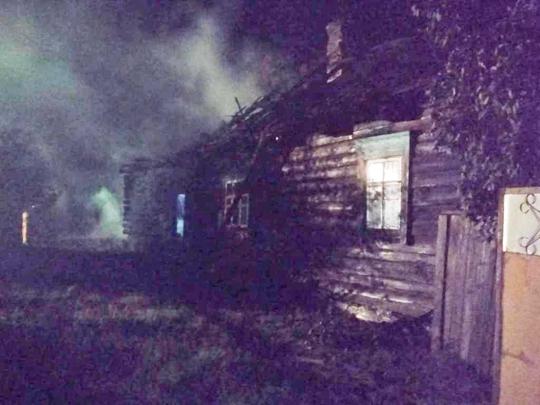 У Турку адбыўся пажар у жылым доме