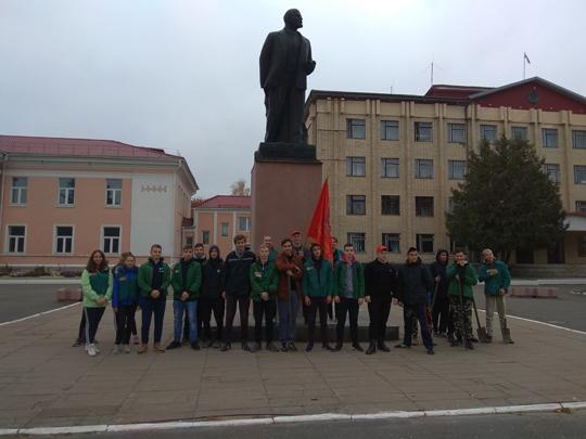 Ветэраны камсамола і актывісты БРСМ прынялі ўдзел у акцыі па пасадцы дрэў